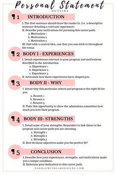 How to rock your grad school personal statement School Essay, Pa School, School Study Tips, Graduate School, Medical School, School Tips, School Stuff, High School, Lsat Prep