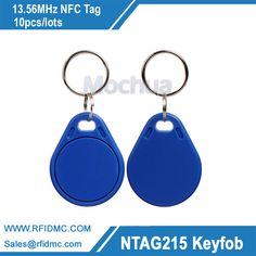 13.56 MHz Ntag215 llavero Etiqueta NFC tipo2 NFC Forum tag