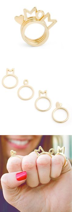 MOM ring - perfect for mother's day