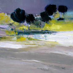 Hervé LENOUVEL - www.art-et-avenir.fr Abstract Landscape Painting, Landscape Art, Landscape Paintings, Abstract Art, Modern Pictures, Equine Art, Contemporary Landscape, Tree Art, Art Studios