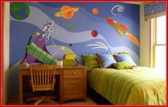 awesome Space Room Decor for Kids