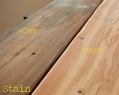How To: Create a Rustice Farmhouse Dining Table from and Inexpensive, New Table