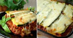 Recept na cuketové lasagne