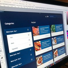 New recipe app concept for a client!