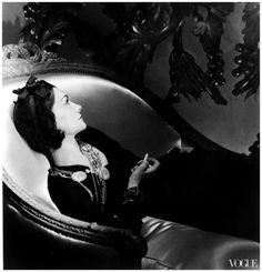 Photography by Horst P. Horst Coco Chanel Paris, 1937