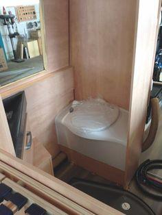 Toilette Kastenwagen Kassette