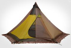 Tentipi Olivin 2 Tipi Tent Combi with Inner Tent, weighs kg, sleeps two people, 3 minutes to erect.