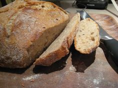 Another whole wheat no knead bread