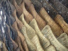 Pabellón de España en Shanghai, textura