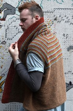 Ravelry: Project Gallery for Gullfoss pattern by Stephen West