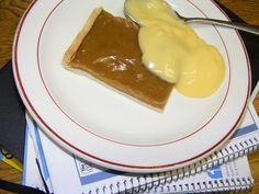 Yummy old school butterscotch tart