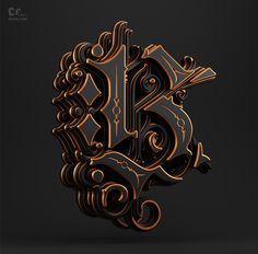 Black Palace by Omar Aqil Typography Drawing, Tattoo Lettering Fonts, Graffiti Lettering, Typography Letters, Typography Logo, Lettering Design, Schrift Design, 3d Type, Design Art