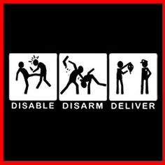 Disable Disarm Deliver!  Mada Krav Maga in Shelby Township, MI teaches realistic hand to hand combat that uses the quickest methods to attack the weakest and most vital targets of both armed and unarmed assailants! Visit our website www.madakravmaga.com or call (586) 745-1171 for more details!