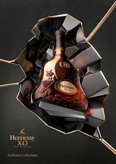 Hennessy XO cognac exclusive collection - Cognac #Cognac #Hennessy
