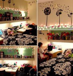 Cute dorm room ♡