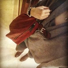 Red bag,grey&brown *Your Style List Blog: Style Inspirations --> New Blog Page