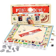 Late for the Sky Photo-opoly Game