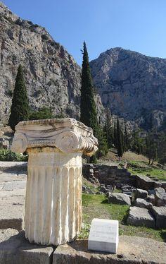 Delphi Greece Corinthian.
