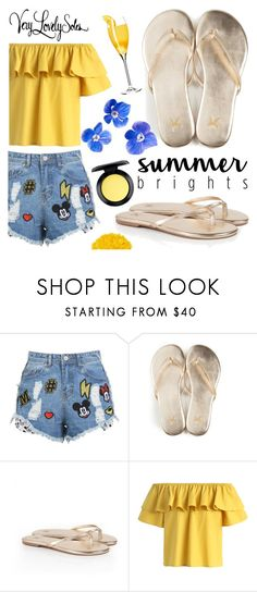 """Very Lovely Soles"" by gaby-mil ❤ liked on Polyvore featuring Illamasqua, Chicwish, MAC Cosmetics, sandals and verylovelysoles"