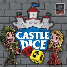 Castle dice is a totally unique 1-4 player game that features 64 custom 15mm dice and other components. In the game, each player will roll a lot of dice, but because of the dice-drafting mechanic, what you roll isn't nearly as important as how you react to the combined rolls of all of the players.
