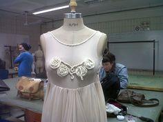 final rope pattern in progress. #avantgardedress