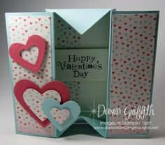 Video from Dawn's Stampin' Studio for a adorable box card!