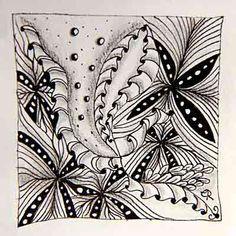 Escara's Zentangle: Muster-Mixer # 13