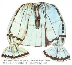 Momarlan Blouse Folk Costume, Costumes, 1 Decembrie, Ethnic Outfits, Folk Embroidery, Fashion History, Traditional Dresses, Gypsy, Textiles