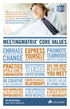 Core Values—MeetingMatrix®