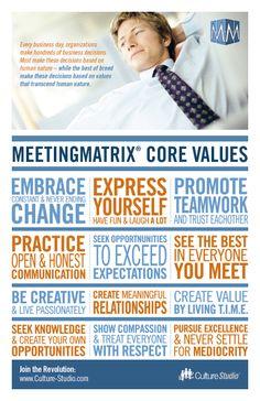 Core Values—MeetingMatrix®