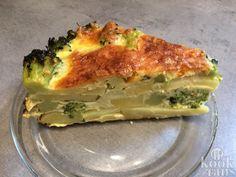 Lekker, gezond en binnen een halfuur op tafel; hartige taart met broccoli en aardappel
