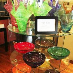 Springfield Hot Glass has amazing pieces to give to your friends and family! Pick something up for yourself as well and watch the masters at work as they fill up the shop around you with works of art.