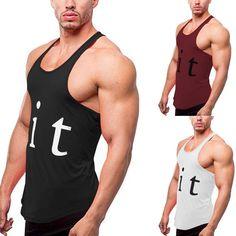 LIT Men's Bodybuilding Fitness Gym Muscle Tank Top | Vest | Stringer | Y-Back Bodybuilding For Beginners, Bodybuilding Workouts, Men's Bodybuilding, Sixpack Boys, Sixpack Workout, Body Building Men, Resistance Workout, Muscle Tank Tops, Gym Workouts