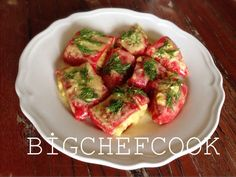 Bruschetta, Salad Recipes, Salads, Food And Drink, Veggies, Appetizers, Low Carb, Snacks, Ethnic Recipes