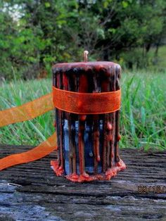 All Hallows Eve Candle ~ Supplies for Witchcraft, Pagan, Wicca, Voodoo, Hoodoo ~ MysticsRealm.com