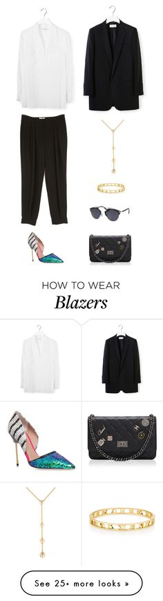 """"" by lilsgrey on Polyvore featuring Equipment, Kurt Geiger, Christian Dior, Yves Saint Laurent, Cartier and Tiffany & Co."
