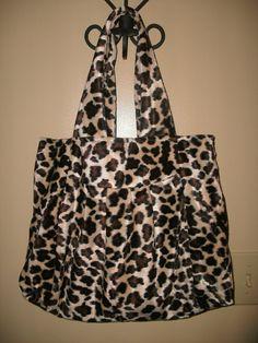 Faux Fur Cheetah Hand Bag by rebeccaanndesigns on Etsy, $25.00