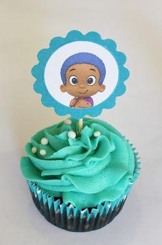 Bubble Guppies Cupcake