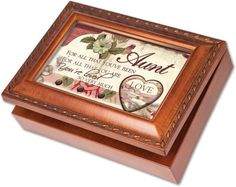 Cottage Garden Aunt Woodgrain Music Box / Jewelry Box Plays Light Up My Life * Be sure to check out this awesome product.