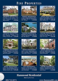 One of the many ways Hammond promotes our seller clients' properties to international buyers is through our ads in the European edition of The Wall Street Journal. Here's our ad that will appear on May 22.