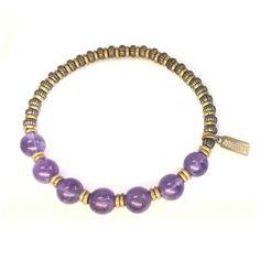 Crown Chakra Bangle Bracelet