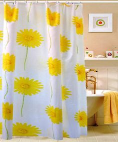 Sunflower Shower Curtain   Http://laptopstandsguide.com/834 Sunflower . Sunflower  BathroomDecor ...