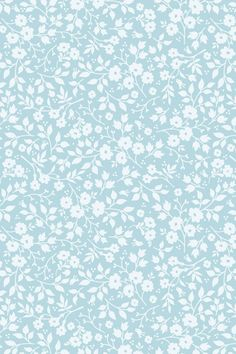 PiP Lovely Branches Blue wallpaper