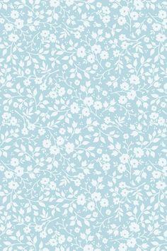 PiP Lovely Branches Blue wallpaper