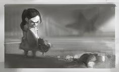 ArtStation - Bioshock Infinite - Liz Tower concepts, Ben Lo