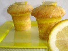 Cupcakes de Limão Siciliano com Glacé