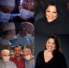 Sara Ramirez, Jessica Capshaw, Calliope Torres, Arizona Robbins, Greys Anatomy Characters, Older Women, Bae, Tv Shows, Grey's Anatomy