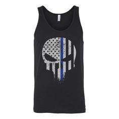 Threadrock Honor & Respect Skullcap Unisex Tank Top T Shirt - TL00638TT