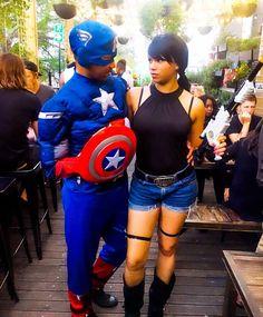 Captain America & Lara Croft #Cousins