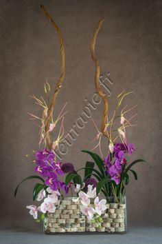 Création florale artificielle haut de gamme. Fleuravie.fr
